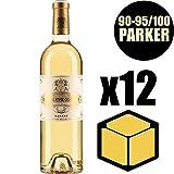 X12 Château Coutet 2016 75 cl AOC Sauternes 1er Cru Classé Vino Blanco Liquoreux