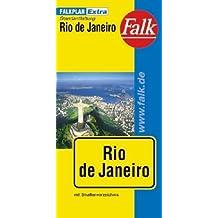 Falk Cityplan Extra Standardfaltung International Rio de Janeiro  mit Straßenverzeichnis