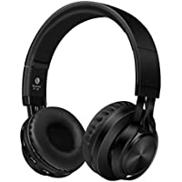 Auriculares Bluetooth Oreja,KINGCOO 4 en 1 Estéreo Auriculares Inalámbricos Bluetooth 4.0 de Diadema Plegable