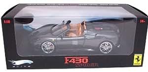 Elite - Véhicule Miniature 1/18 - Ferrari F430 Spider - Argent
