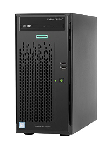 Hewlett Packard Enterprise ProLiant ML10Gen93.3GHz E3-1225V5300W Tower (4U)-Server (3,3GHz, Intel Xeon E3, E3-1225V5V5, Smart Cache, 8MB, 8GT/s)