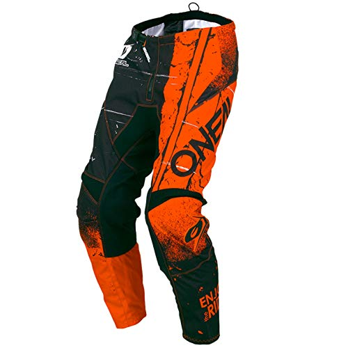 O\'Neal Element Shred MX DH MTB Pant Hose lang orange 2019 Oneal: Größe: 34 (50)