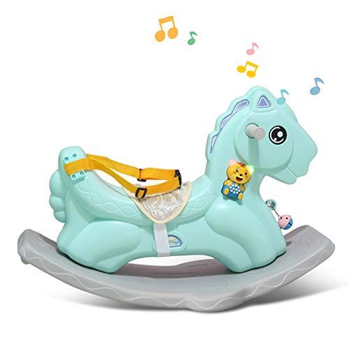 Baby-Schaukelpferd-Plastikwanderer-Rocker-Stühle, die Toy-Balance-Trainings-Roller mit Musik für Kind 1-3 Jahre reiten