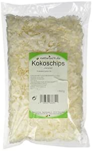 Naturix24 Kokoschips ungesüßt, ungeröstet - Beutel, 3er Pack (3 x 500 g)