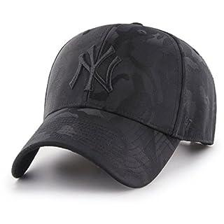 47Brand MVP Adjustable Cap NY Yankees B-JGSWM17TVS-BK Schwarz Schwarz, Size:ONE Size