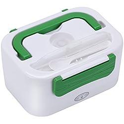 GHB Boîte Chauffante Lunch Box Chauffante Électrique 220V Boîte Alimentaires Boîte Repas Plastique à Pique-Nique