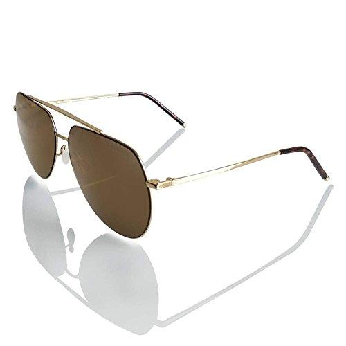 CNIKESIN Polarisierte unisex Sonnenbrille Modische Metallrahmen Fahrer Sonnenbrille 100% UV400 Schutz für Golf, Autofahren, Outdoor Sport, Angeln (gold color)