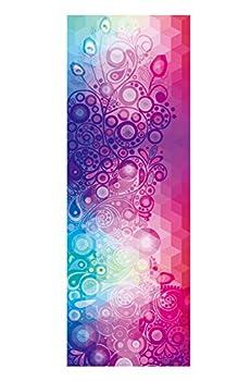 Dicke Rutschfeste Yoga Handtücher, Rutschfest Saugfähig Und Hitzebeständig Doxungo Premium Yogatuch, Yoga Towel Mit Dem Verschiedenen Und Schönen Druck (P) 0