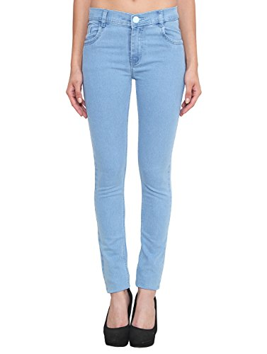 ALC Creations Light Blue Slim Fit Jeans for Women