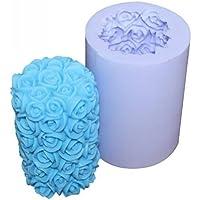 Romote Rose candela silicone stampi stampo candela Crafts stile romantico muffa DIY