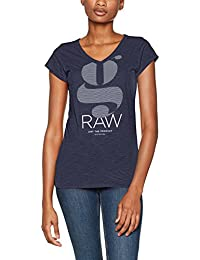 G-STAR RAW Loreen Sp V T Wmn Cap Sl, Camiseta para Mujer