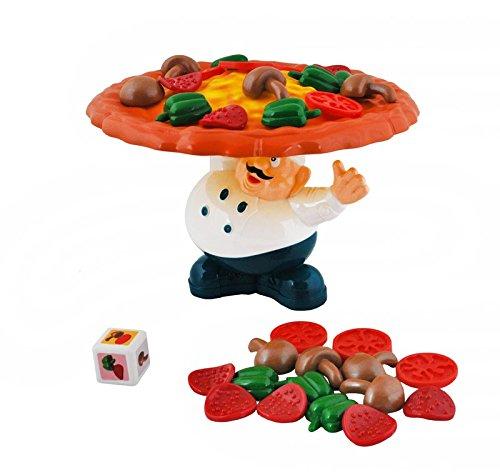Iso Trade Geschicklichkeitsspiel Spielzeug Pizza Lebensmittel Master Chef Kinder Arcade Spiel #1392