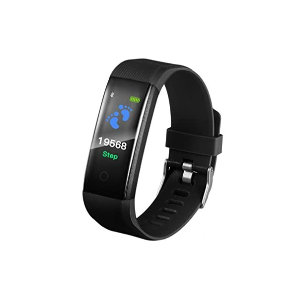 2018 Fitness Tracker Smart Wrist Watch U Watch Phone Mate For IOS Android Vneirw 115PLUS Colourful UI Display Sports Watch Smart Watch With BluetoothCalorieSleep Management