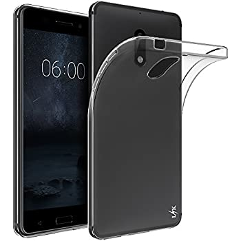 coque nokia 6 ivoler etui housse mince silicone transparent pour nokia 6 coque de protection en. Black Bedroom Furniture Sets. Home Design Ideas