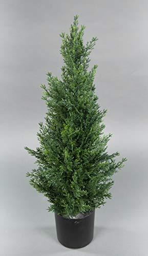 Seidenblumen Roß Zeder/Konifere Natura 60cm LA künstliche Pflanzen Baum Kunstpflanzen Kunstbaum Thuja Zypresse