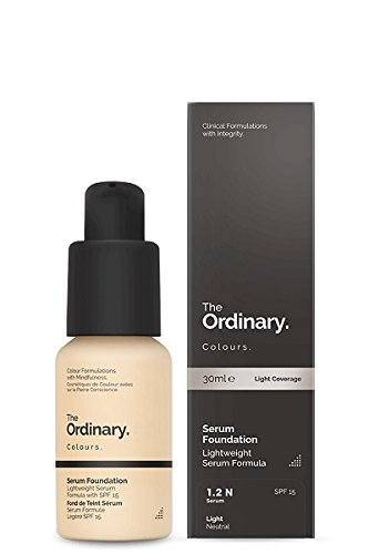 The Ordinary Serum Foundation 30ml Lightweight Pigment Suspension System with Moderate Coverage (1.2N Light Neutral)