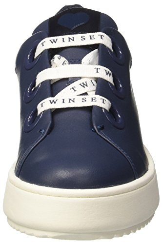 Twin-Set Cs7ph3, Sneakers basses femme Blu (Blu Nautico)