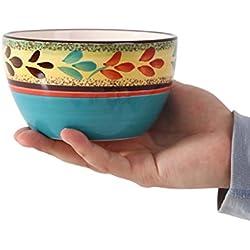 Bowl de desayuno pintado a mano