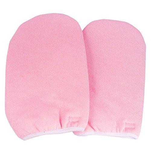 BF nouveau coton synthétique paraffine rose Protection main gants décoller les ongles Gel UV #391 P
