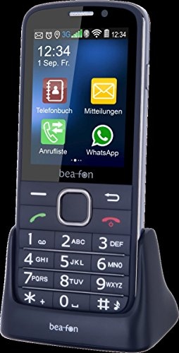 Image of Beafon SL820_EU001BS Mobiltelfon (7,11 cm (2,8 Zoll) TFT-Display 320 x 240 Pixel, SOS-Notruftaste) schwarz