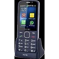 Beafon SL820_EU001BS Mobiltelfon (7,11 cm (2,8 Zoll) TFT-Display 320 x 240 Pixel, SOS-Notruftaste) schwarz