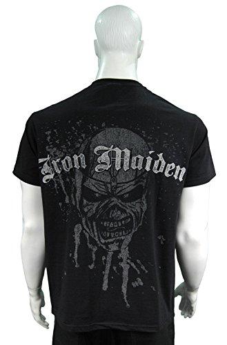Producto oficial de T-camiseta de manga corta de IRON MAIDEN...