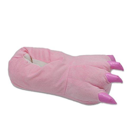 Tier Schlafanzug Erwachsene Pyjama Einhorn Schlafanzug mit Reißverschluss Tierkostüme Jumpsuit Overall Onesie Halloween Karneval Cosplay Kostüm - (Maskottchen Erwachsene Mann Kostüme)