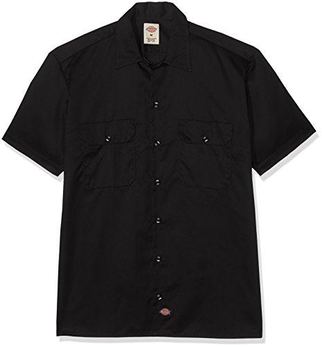 Dickies Herren Langarmshirt, Schwarz (Black BK), 6X-Large (6x T-shirt)