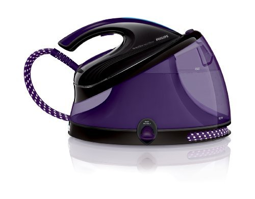 Philips GC8650/80 PerfectCare Aqua Dampfbügelstation (6,2 Bar, Wassertank 2,5 Liter) violett