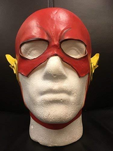 Wrestling Rot Latex - Kostüm Halloween Kopf Cosplay Maske - The Flash Superheld (Wrestling Halloween Kostüme)