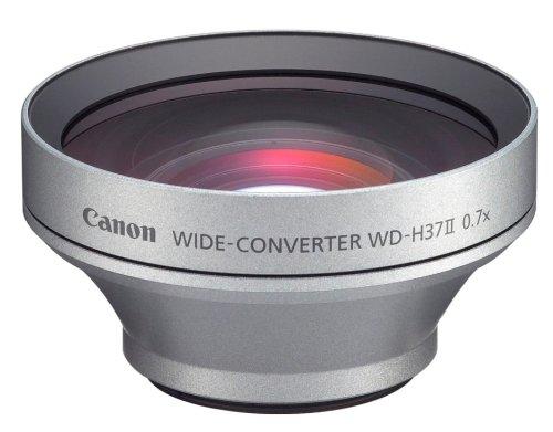Canon Weitwinkelkonverter WD-H37 II passend für Canon AVCHD Camcorder HG 20 und HG 21 (Cannon Camcorder 20)