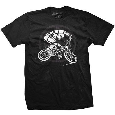 DHD Herren BMX Trooper T-Shirt, Schwarz, Größe XXL