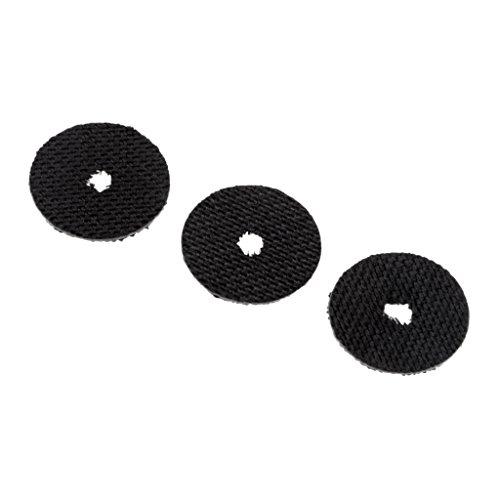 Unbekannt 3 Stücke Kohlefaser Drag Waschmaschinen Spinning Baitcasting Rolle Teile - L