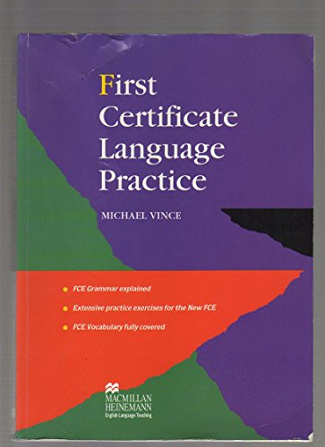First Certificate Language Practice: Without Key