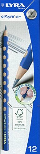 Lyra - l1760100 - confezione da 12 matite in grafite triangolare