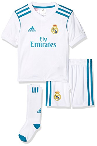 adidas Kinder Real Madrid Mini-heimausrüstung, White/Vivtea, 110