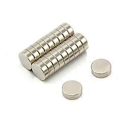 First4magnets F327-20 9mm Durchmesser x 3mm Dicker N42-Neodym-Magnet-1,8kg Anziehungskraft (2 St-Packung)