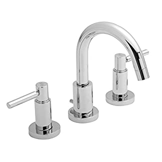 Hudson Reed tel337Tec palanca 3grifo agujero lavabo mezclador monomando para lavabo y residuos–CHROME