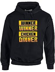 Brand88 - Chicken Dinner, Adults Gedruckt Hoody - Pullover