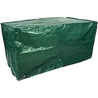 Kronenburg 4260161651954 - Funda para muebles de exterior, color verde, 75 x 160 x 80 cm