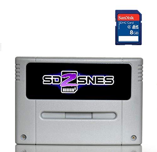 SD2SNES Everdrive Super Nintendo + 8gb sd card - SNES Famicom Super Nes -  SD-Karte - spiele
