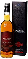Armorik Maitre De Chai 7 Year Old Single Malt Whisky, 70 cl from Warenghem