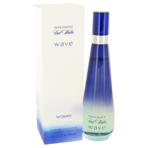 Davidoff Cool Water Wave by EDT Spray 3.4 Oz -