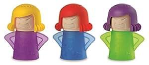Accessorio per pulizia forno a microonde a forma di mamma arrabbiata