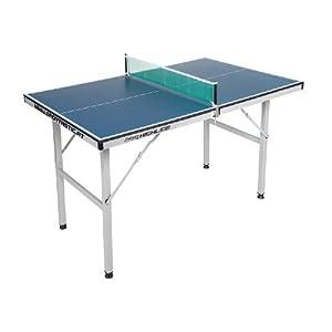 Mini Tischtennistisch – zusammenklappbarer Tisch, für Wohn- und Kinderzimmer geeignet