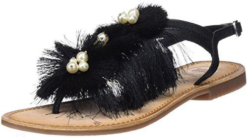 Gioseppo Women's 44241 Open Toe Sandals, (Black Negro), 5 UK 5 UK