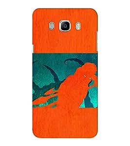 EPICCASE the monster Mobile Back Case Cover For Samsung J5 2016 (Designer Case)