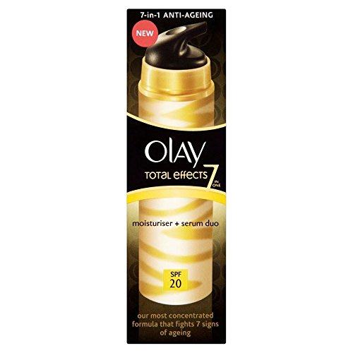 Olay Total Effects Crème hydratante et sérum Duo SPF 20 (40 ml) – Lot de 2