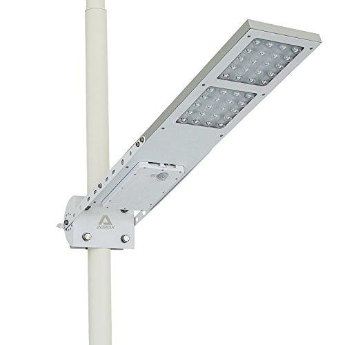 Farola LED solar para poste con sensor de movimiento ALPHA 2020X
