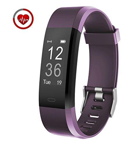 Vigorun Fitness Armband Echtzeit-Herzfrequenz-Überwachung YG3 Plus Fitness Tracker Fernauslöser Multi-Sport-Modus Schrittzähler Kalorienzähler Schlafüberwachung Kompatibel mit Android & iOS